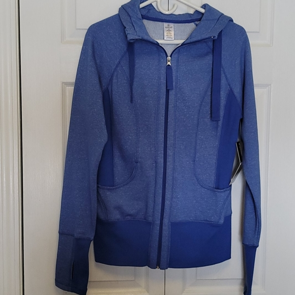 Active life  hoodie sweat shirt thumb hole size LG